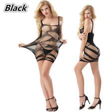 Sexy Lingerie Fishnet Body stockings Dress Underwear Babydoll Sleepwear YF-HDL7