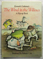 The Wind in the Willows Pop-up Kenneth Grahame & Babette Cole 1st Ed HC 1983 VG