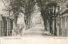 Schaarse Oude Postkaart met een zicht op de Noordstraat in DOMBURG (PK199)