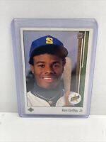 1989 Upper Deck Ken Griffey Jr Rookie #1 Mariners