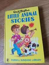 1971 Hardback Little Animal Stories By Enid Blyton Classic Purnell