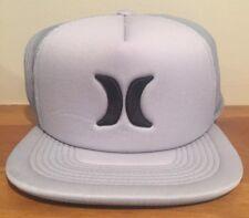 Hurley Blocked 3.0 Trucker Adjustable Mesh Gray Hat Cap Snapback