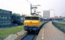 Eisenbahn Spoorwegen Zug NS #1607 Nederland Netherlands Original Negative 1980s