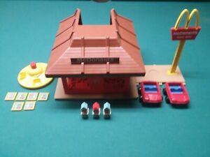 """Vintage 1974 McDonald's Playskool  #430 """"Familiar Places""""  Incomplete Set"""
