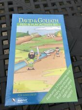 David & Goliath NEW Religious peel & play activity set 3 and up play scenes NEW