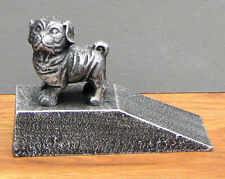 CAST IRON- PUPPY DOG Door Wedge Doorstop   Home Decor