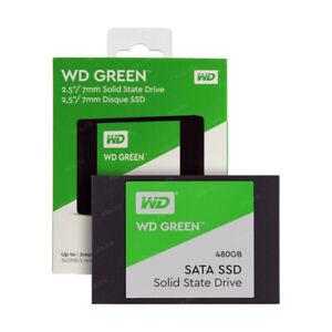 480 GB SSD WD Green SATA 3, 2,5 Zoll - Neuware (Retoure) mit Garantie & Rechnung