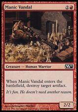 4x Manic Vandal M11 MtG Magic Red Common 4 x4 Card Cards