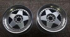 """JDM - PAIR Split wheels - WORK Felgen Rims 17""""x10,5"""" RARE 5x114,3 Drift Stance"""