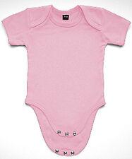 Baby Strampler Bodysuit Babybugz rosa pink rose Mädchen Baumwolle 0-18 Monate