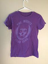 The Misfits Fiend Club purple t-shirt short sleeve shirt babydoll rockband