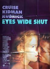 Affiche cinéma Eyes wide shut Tom Cruise Stanley Kubrick (1999)