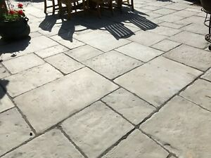 Paving,Olde Yorke Antique Grey 10sq/m Random sizes incl Delivery(some exceptions