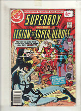 Superboy And The Legion Of Super Heroes #246 F/Vf