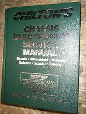 1991-1993 CHILTON CHASSIS ELECTRONICS SERVICE MANUAL TOYATA SUBARU MITSUBISHI