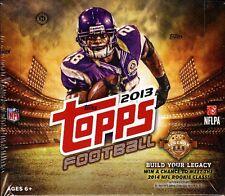 2013 TOPPS JUMBO FOOTBALL BOX SEALED HOBBY HTA  FREE SHIP