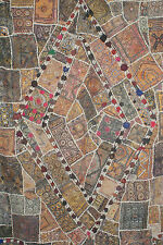 Indian Wall Hanging tapestry antique patchwork (huge)