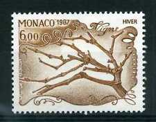 MONACO - 1987 timbre 1584, plantes, la vigne, neuf**
