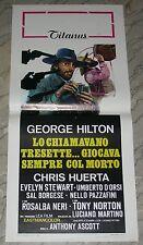 LOCANDINA, LO CHIAMAVANO TRESETTE.., GEORGE HILTON, R.  NERI, SPAGHETTI WESTERN