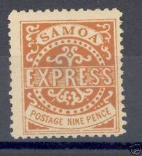 Samoa Scott#5 Mint Hinged Thinned Defective