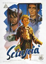 Sciuscia Vittorio De Sica vintage movie poster print