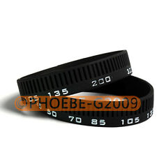 Photographer's Wristband Lens Focal Length Ring / Stop Zoom Creep Silicon Latex