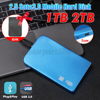Portable USB 3.0 2TB 1TB External Hard Drive Disk HDD 2.5'' Fit  5400rpm For