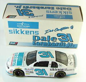 Dale Earnhardt Jr # 31 Sikkens 1/ 18 White 1997 Chevy Revell 1999 AKZO NOBEL