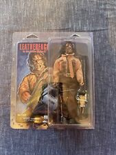 """LEATHERFACE The Texas Chainsaw Massacre Part 3 8"""" inch Clothed Figure Neca 2017"""