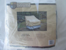 High Back Chair Cover Seasons Sentry Lawn Patio Furniture CVP01629 New Sealed
