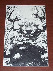 Batman/The Maxx: Arkham Dreams #1! (2018) NYCC Exclusive Jim Lee B/W Variant! NM