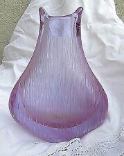 *  schott zwiesel massive kristall vase attraktives design 1,1 kg 19 cm vintage
