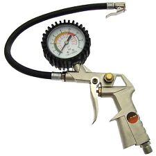 Coche Carro neumático Neumático De Aire Inflador Dial presión Medidor Calibrador de herramienta del compresor