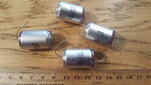 4 x Suflex 36000pF  36n  0.036uF  350v DC 2% polystyrene capacitor