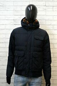 Woolrich Uomo Taglia S Giubbotto Cappotto Giacca Bomber Nero Jacket Man Black