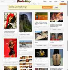 Photo Pins Website - Pinterest clone
