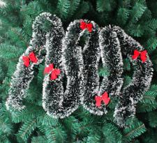 Luxury 2m (6.5ft) Tinsel Christmas Tree Decorations Xmas Garland N0.3