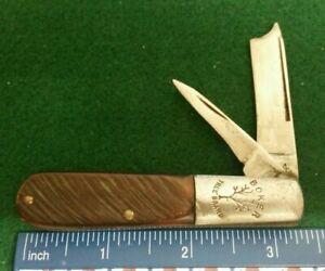 Boker Tree Brand Barlow knife, sawcut delrin handles     $