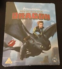 HOW TO TRAIN YOUR DRAGON Blu-Ray SteelBook Zavvi UK Exclusive Region Free & Rare