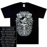 Psycroptic Burning Tour Shirt S M L Official Tshirt Australian Metal T-Shirt New