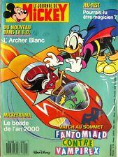 Le journal de Mickey n°1840  du 29 septembre 1987 - Mickeyrama Bolide Rouge