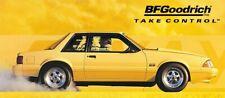 REPRODUCTION BF Goodrich Ford Mustang 13oz Vinyl Banner. Drag Race.