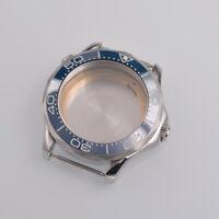41mm blue ceramic bezel sapphire cystal Watch Case fit ETA 2824/2836 movement