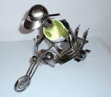 Metal Wine Bottle Stand Holder Motorbike