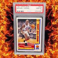 🔥 1991 Upper Deck #452 🔥 Michael Jordan PSA 10 GEM MTBulls HoF GOAT 🔥