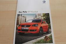 132400) VW Polo GT Rocket Prospekt 06/2008