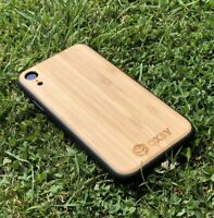 OXSY iPhone XR Bamboo Wood Case | iPhone Wooden Cover