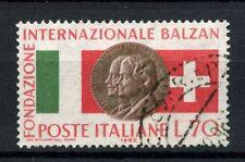 ITALIA 1962 SG # n. 1083 INT. Balzan Federazione USATO #A 40243