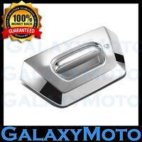 02-06 Chevy AVALANCHE 1500+2500 Chrome ABS Tailgate with Keyhole Handle Cover