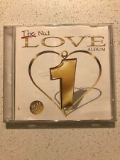 THE NO.1 LOVE ALBUM - CD - VGC - 2 DISCS